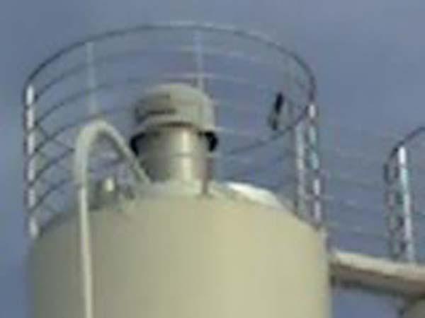 Garde corps silo